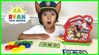 Download PAW PATROL TOY Bingo Game for Kids with Egg Surprise Toys Video
