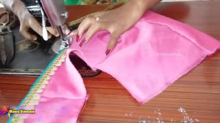 Download How to make Designer Blouse at Home easy & quick Video
