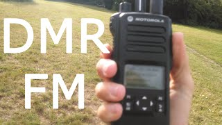 Download DMR vs FM testing UHF and VHF Video