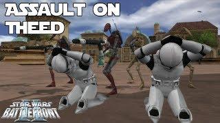 Download Star Wars Battlefront 2 Mod | Assault on Theed (Alpha) Video