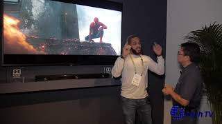 Sony HT-ST5000 - Dolby Atmos Sound Bar - Demo Room at CES 2017 Free