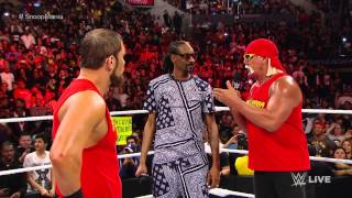 Download Snoop Dogg and Hulk Hogan contend with AxelMania: Raw, March 23, 2015 Video