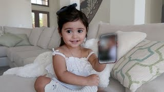 Download ELLE REACTING TO HER BIRTH VIDEO!!! (THIS BABY IS HILARIOUS) Video