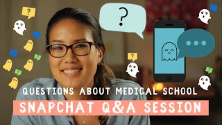 Download Am I Good Enough For Medical School? | Snapchat Q&A Session about Medical School! Video