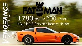 Download 1780 HP 200+MPH TT C6 - HALF MILE CORVETTE RECORD HOLDER Video