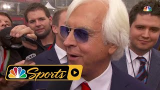 Download Bob Baffert knows Justify has work to do after Preakness Stakes I NBC Sports Video