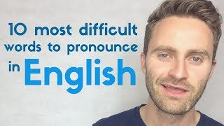 Download 10 Most Difficult Words to Pronounce in English | British English Lesson Video