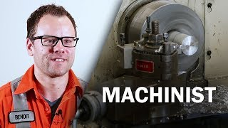 Download Job Talks - Machinist - Ben Goes Into Detail About His Machinist Job Video