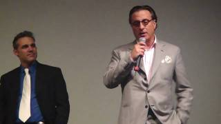 Download Andy Garcia get emotional on world premiere of ″Magic City Memoirs″ Video