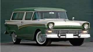 Download 1957-1958 Ford Del Rio - Ford's 2-door Sport Wagon Video