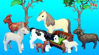 Download Playmobil Farm Animals Nursery Building Set Toy Build Review Video