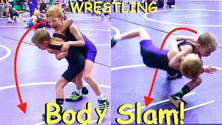 Download 🏆Boy Body Slams Kid at WRESTLING TOURNAMENT!💪👦👍 Video