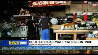 Download Newsroom: South Africa's water woes continue Video