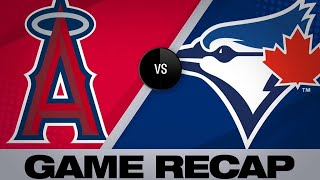 Download Trout's 7-RBI game leads Angels to victory | Angels-Blue Jays Game Highlights 6/19/19 Video
