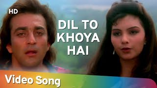 Download Dil To Khoya Hai | Sanjay Dutt | Somy Ali | Andolan | Bollywood Songs | Alka Yagnik | Kumar Sanu Video