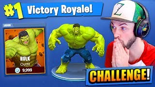 Download The HULK CHALLENGE in Fortnite: Battle Royale! Video