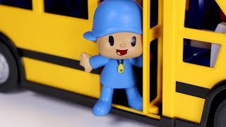 Download Pocoyó Juguetes en Español 👶 Pocoyo y sus amigos van en el bus del cole Video
