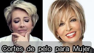 Download Cortes de Cabello Mujer - Moda 2017 para Mujeres 30, 40, 50 años... ❤ Video