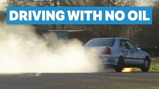 Download How Long Will My £200 Mercedes Run With No Oil? Video