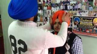 Download PATIALA SHAHI PAGG - DASMESH TURBAN ACADEMY ,RAMA MANDI , JALANDHAR -+91-9872731292 Video