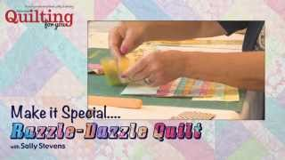 Download Make It Special - Razzle-Dazzle Quilt Video