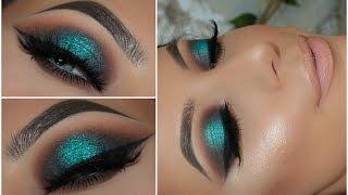 Download Halo Teal Pop of Colour Smokey Eye | Amys Makeup Box Video