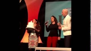 Download Pitbull Singing Happy Birthday with Gloria and Emilio Estefan Video
