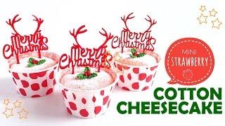 Download Mini Strawberry Cotton Cheesecake Video