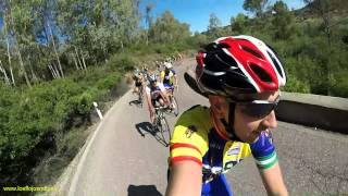 Download Ruta de carretera Córdoba, Alcolea, Villafranca, Adamuz, Pedro Abad, El Carpio, Córdoba. Video