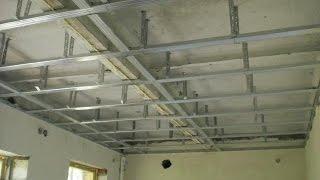Download № 2 Подвесной потолок из гипсокартона своими руками. Часть вторая (из трёх) Video