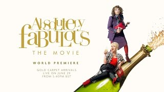 Download WORLD PREMIERE OF ABSOLUTELY FABULOUS: THE MOVIE - 29th JUNE 2016 Video