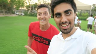 Download Mesut Ozil - Cross Bar Challenge in DUBAI !!! Video