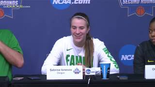 Download Graves, Ionescu, & Gildon Following First Round Win Over Seattle U Video