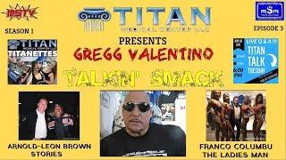 Download Gregg Valentino on Rich Piana, Arnold, Franco, Mike O'Hearn Video