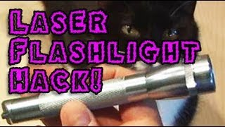 Download Amazing Lasers! - Laser Flashlight Hack! Video