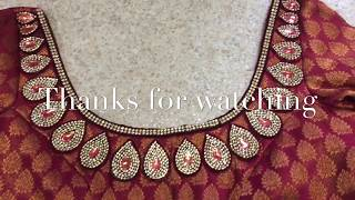 Download HOW TO MAKE DESIGNER BLOUSE AT HOME/D-I-Y DESIGNER SAREE BLOUSE/D-I-Y PATCHES Video