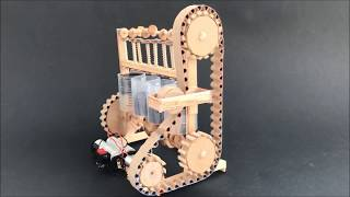 Download How the four cylinder engine model - DIY with cardboard Video