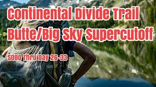 Download CDT Butte - Big Sky Supercutoff. SOBO Thru-Hike Documentary EP 5. Day 26-33. Hot Springs, Sky Rim! Video