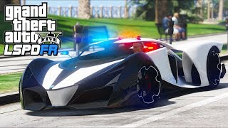 Download GTA 5 - LSPDFR Ep341 - X80 Proto Police Car Goes 276MPH!! Video