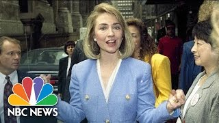 Download Hillary Clinton As First Lady | Flashback | NBC News Video
