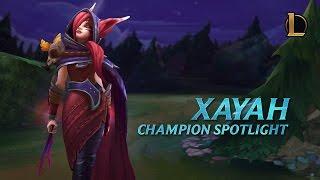 Download Xayah Champion Spotlight | Gameplay - League of Legends Video