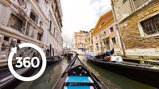 Download Take a 360° VR Gondola Ride In Venice! 🚣 (360 Video) Video