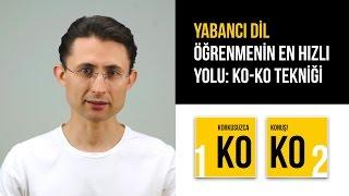 Download Yabancı dil öğrenmenin en hızlı yolu: KO-KO Tekniği Video