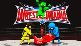Download WRESTLEMANIA: GANG BEASTS EDITION!! Funniest Fighting Game Ever | Gang Beasts Funny Moments & FAILS Video