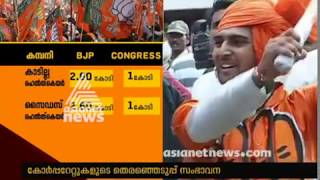 Download BJP receives maximum funding from corporate donors, says report Video