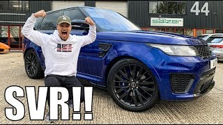 Download TAKING RANGE ROVER SVR TO THE GYM!! Video