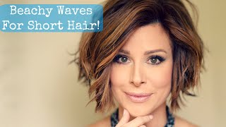 Download Beachy Waves for Short Hair! Video