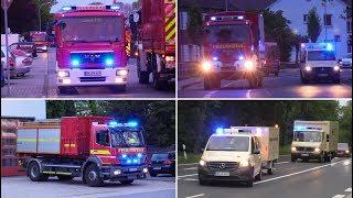 Download [Evakuierung nach Bombenfund] Einsatzfahrten der Hilfsorganisationen in Aldenhoven am 29.04.19 Video