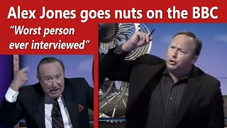 Download Alex Jones goes nuts on the BBC and host calls him an idiot & 'worst person ever interviewed' Video