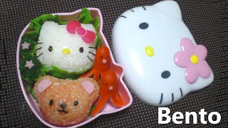 Download DIY Hello Kitty Bento - Kitty Onigiri (rice ball) mold Video